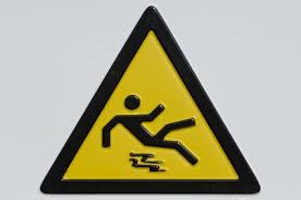 person falling