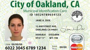 Oakland ID card